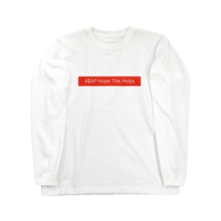 A$AP Hope This Helps Long sleeve T-shirts