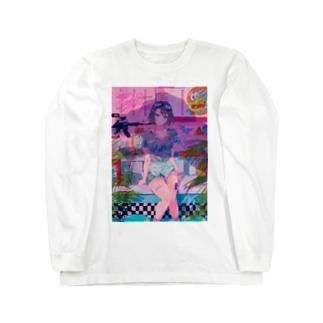 ダイナー・ダイナソー Long sleeve T-shirts