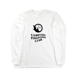 CAMPFIRE PINGPONG CLUB Long sleeve T-shirts
