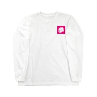 朝寝坊~saru~ Long sleeve T-shirts