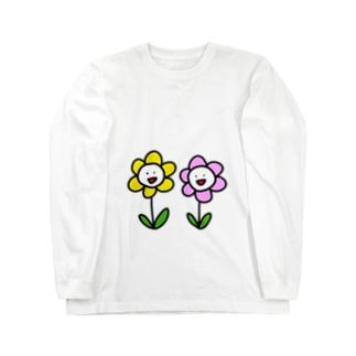両手に花 Long sleeve T-shirts