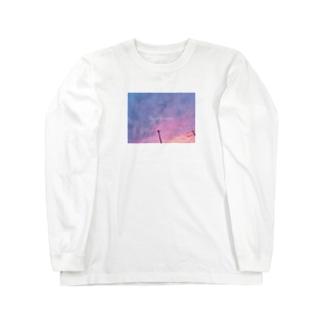 Quiero verte photoT-shirt  空 Long sleeve T-shirts