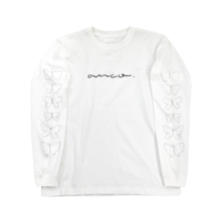 anco.のひらひら(スケルトン) Long sleeve T-shirts
