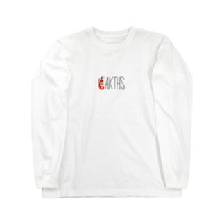 消火器ロゴ Tシャツ Long sleeve T-shirts
