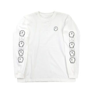 すわる Long sleeve T-shirts