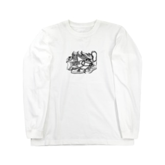 お靴ロンT Long sleeve T-shirts