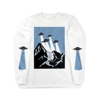 チームUFO Long sleeve T-shirts