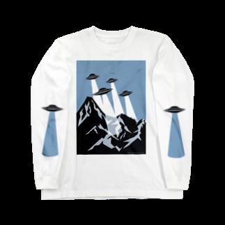umaoのチームUFO Long sleeve T-shirts