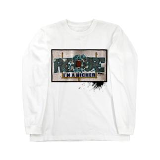 I'M A KICKER Long sleeve T-shirts