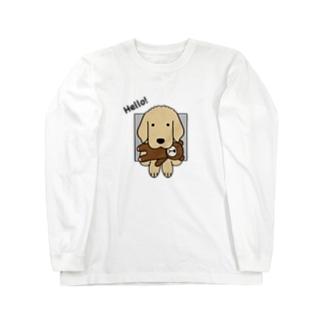 ハロー!(両面) Long Sleeve T-Shirt