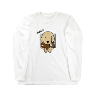 efrinmanのハロー!(両面) Long sleeve T-shirts