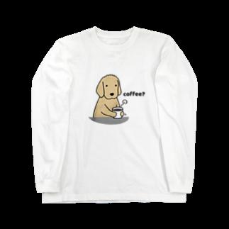 efrinmanのおつかれさま〜コーヒー&ビール〜(両面) Long sleeve T-shirts