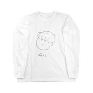 4くん Long sleeve T-shirts