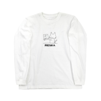 レイにゃ Long sleeve T-shirts