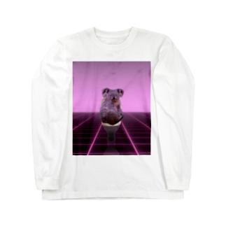 賢いコアラ Long sleeve T-shirts