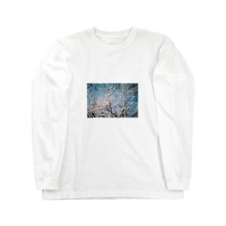 桜を抱きしめて Long sleeve T-shirts