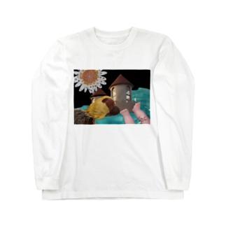揚げ足取り Long sleeve T-shirts