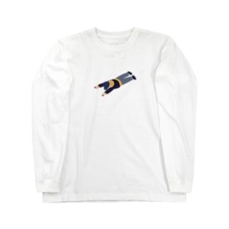 たどころくん Long sleeve T-shirts