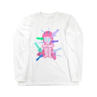SHISEN NI HISOMU Long sleeve T-shirts
