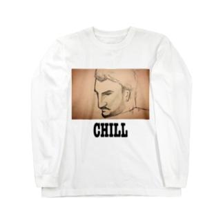 CHILL Long sleeve T-shirts