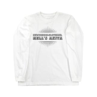 地獄秋田 Long sleeve T-shirts