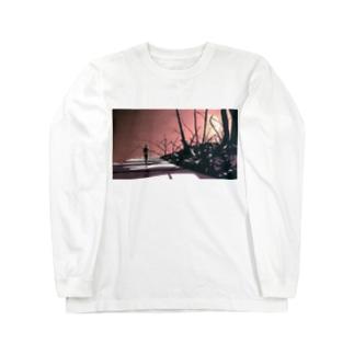 山路を登りながら Long sleeve T-shirts