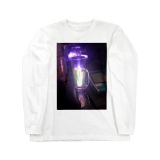 サイリウムとリアルゴールドと Long sleeve T-shirts