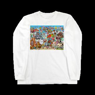 326(なかむらみつる)のおふらんす Long sleeve T-shirts