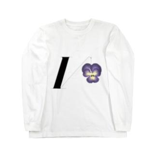 Viollerina Logo Long sleeve T-shirts