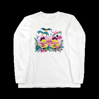 ク渦群の20190409 Long sleeve T-shirts