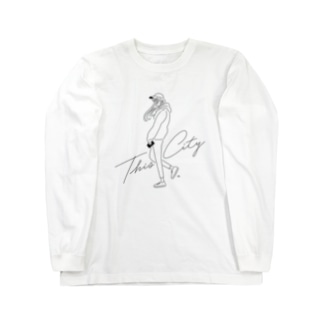 THIS CITY (GIRL) Long sleeve T-shirts