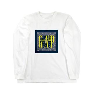 GangstARAP_yellow Long sleeve T-shirts