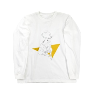 Yellow. Long sleeve T-shirts