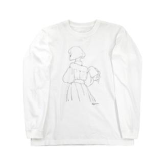 Bouquet. Long sleeve T-shirts