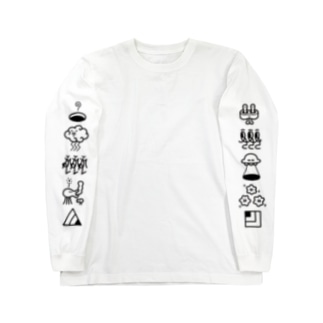 大集合&整列 Long sleeve T-shirts