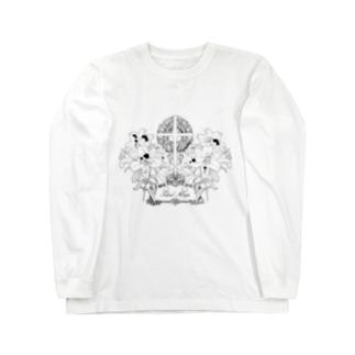 百合の葬列 Long sleeve T-shirts