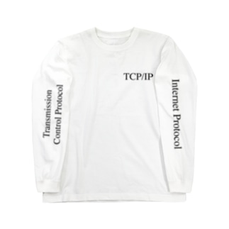 TCP/IP Long sleeve T-shirts