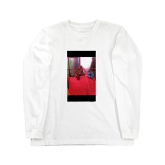 箱入り娘…はなちゃん Long sleeve T-shirts