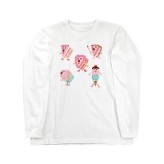 CAKEちゃんズ Long sleeve T-shirts