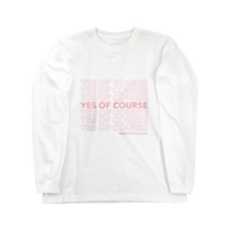 Cecilé × message logo Long sleeve T-shirts