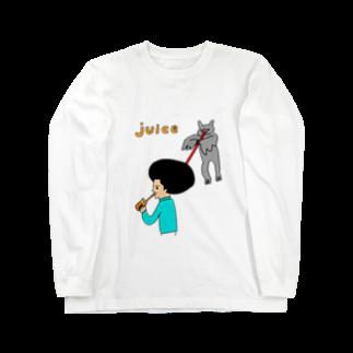 花くまゆうさくのJUICE(ジュース)2 Long sleeve T-shirts