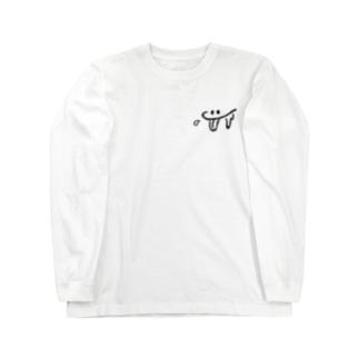 マンチーくん Long sleeve T-shirts