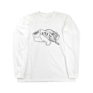 猫 Long sleeve T-shirts