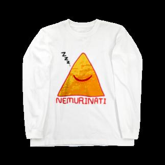 六尺三太郎のネムリナティのマーク Long sleeve T-shirts