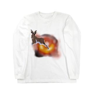 超光速脱兎 Long sleeve T-shirts