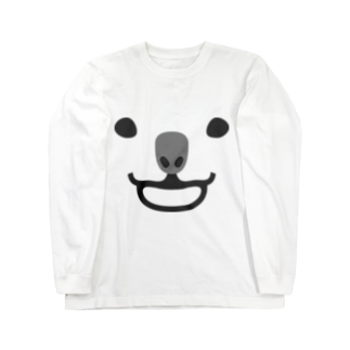 犬田猫三郎のコアラ Long sleeve T-shirts
