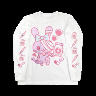 Meltrium*の病みホリ兎桃02 Long sleeve T-shirts