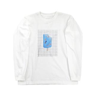 初夏柄 Long sleeve T-shirts