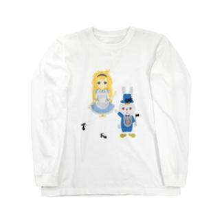 アリス&ホワイトラビット Long sleeve T-shirts