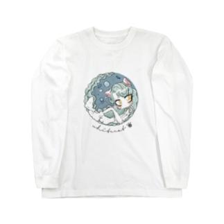 ホワイトキャット Long sleeve T-shirts